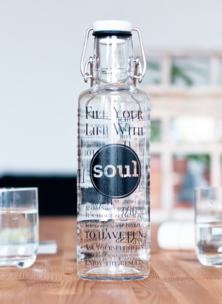 "soulbottle 0,6l ""Fill your Life with Soul"""
