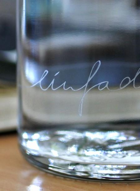 """soulbottle 0,6l """"einfach nur Wasser"""""""