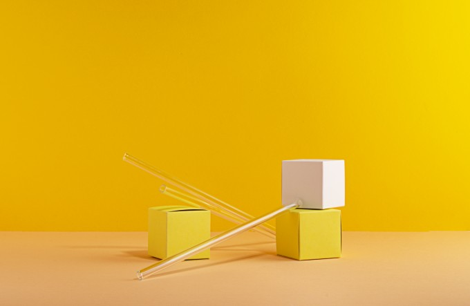 3x slurpable Karma with glass straws