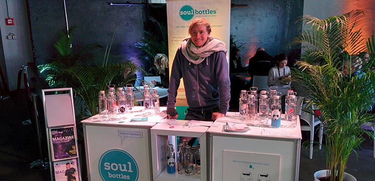 soulbottles auf der Ethical Fashion Week