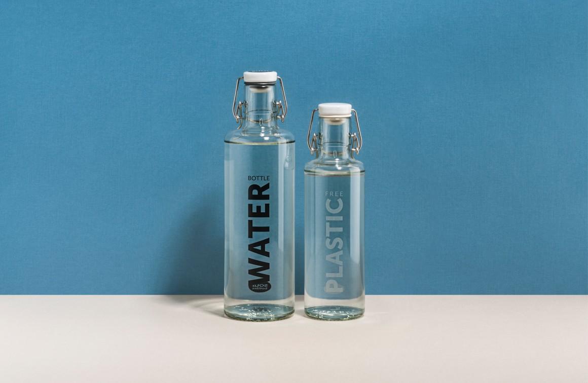 Beste Freund*innen • 1,0 l Water bottle + 0,6 l Plastic free